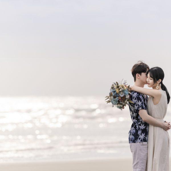 人像寫真|新竹新月沙灘